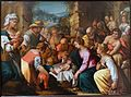 The Adoration of the Shepherds, by Hans Rottenhammer, c. 1605, oil on copper - Blanton Museum of Art - Austin, Texas - DSC07785.jpg