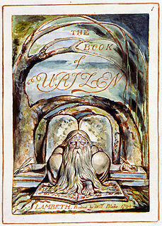 <i>The Book of Urizen</i> book by William Blake