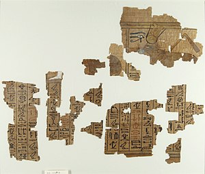 Neferronpet - The Book of the Dead of Neferrenpet, ca. 1295-1185 B.C.E.,.35.1448 Brooklyn Museum