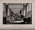 The British Museum; the Egyptian Room, with visitors. Engrav Wellcome V0013525.jpg