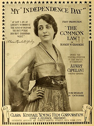 Clara Kimball Young - Image: The Common Law 2