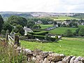 The Crown Inn and Station Road from Harber Scar Lane - geograph.org.uk - 710322.jpg