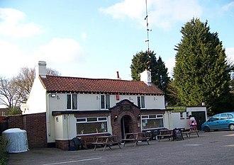 Fritton Lake - Nearby pub, the Decoy Tavern