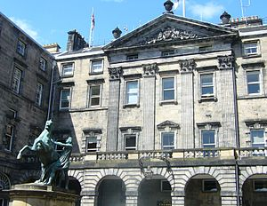 John Adam (architect) - Image: The Edinburgh City Chambers, High Street Edinburgh
