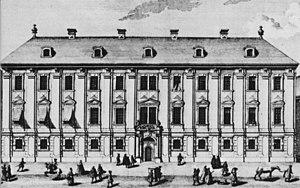 Symphony No. 6 (Haydn) - The Esterházy Palace on Vienna's Wallnerstraße, where this symphony premiered.