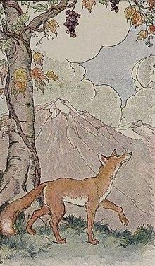 La volpe e l uva wikipedia