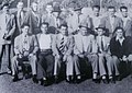 The Gangster Squad, circa 1948--Notable members- Jack O'Mara sits on the far left, bottom row- Doug Kennard stands directly behind O'Mara- Leader, Willie Burns stands in center, wearing dark jacket and hat- Je 2014-06-12 22-20.jpg
