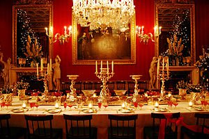 English: The Great Dining Room. Chatsworth House