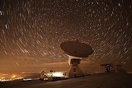 The IRAM 30-meter telescope scanning the night sky.jpg