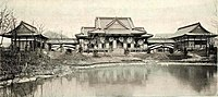 The Japanese pavillion Ho-o-den 01, World's Columbian Exposition 1893