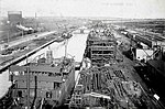 The Keating Channel from the bridge at Cherry Street, 1919-10-19.jpg