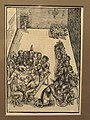 The Last Supper and the Washing of Feet, from the Passion of Christ, 1506, by Urs Graf the Elder, woodcut - Art Institute of Chicago - DSC09611.JPG