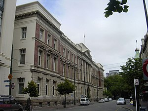 The Octagon, Christchurch - Old Government Building