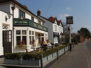 Dorney - Image: The Palmer Arms, Dorney geograph.org.uk 383444