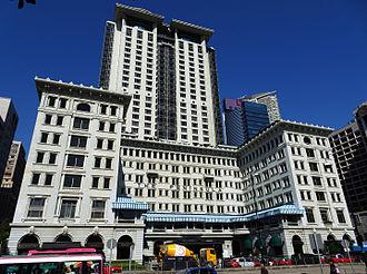The Peninsula Hong Kong - The Peninsula and the Peninsula Office Tower in 2008