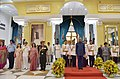 The President, Shri Ram Nath Kovind at the 'At Home' function, organised on the occasion of 71st Independence Day, at Rashtrapati Bhavan, in New Delhi.jpg