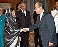 The President, Smt. Pratibha Patil meeting with the President of Mexico, Mr. Felipe Calderon Hinojosa, in New Delhi on September 10, 2007.jpg