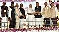 The Prime Minister, Shri Narendra Modi distributing the awards at the Krishi Unnati Mela, in New Delhi (1).jpg