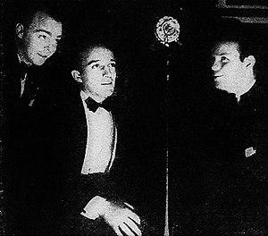 The Rhythm Boys - Left to right: Harry Barris, Bing Crosby, and Al Rinker