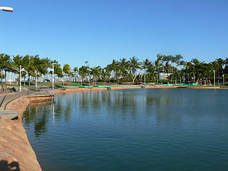 The Strand, Townsville - The Rockpool is a salt water lagoon at the Strand
