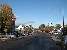 The Square, Beauly, in autumn - geograph.org.uk - 1709308.jpg
