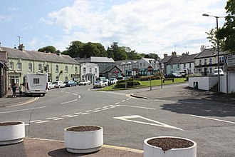 Strangford - Image: The Square, Strangford, June 2011 (01)