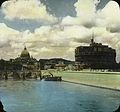 The Tiber, Castle of San Angleo and St. Peters Church, Rome, Italy. (4904346871).jpg