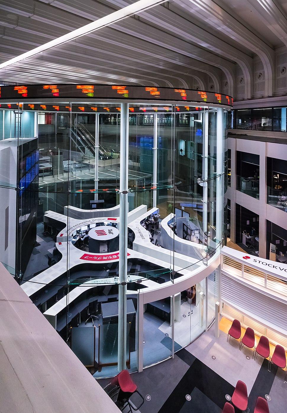 The Tokyo Stock Exchange - main room 3