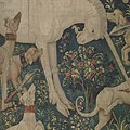 The Unicorn Defends Itself (from the Unicorn Tapestries) MET DP101163.jpg