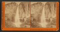 The Upper Yosemite Falls, 1600 feet, from Eagle Point Trail, by Watkins, Carleton E., 1829-1916.png
