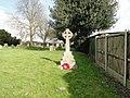 The War Memorial at Shadingfield (geograph 4396464).jpg