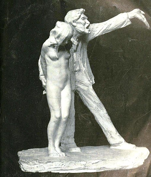 https://upload.wikimedia.org/wikipedia/commons/thumb/e/e1/The_White_Slave_statue.jpg/509px-The_White_Slave_statue.jpg