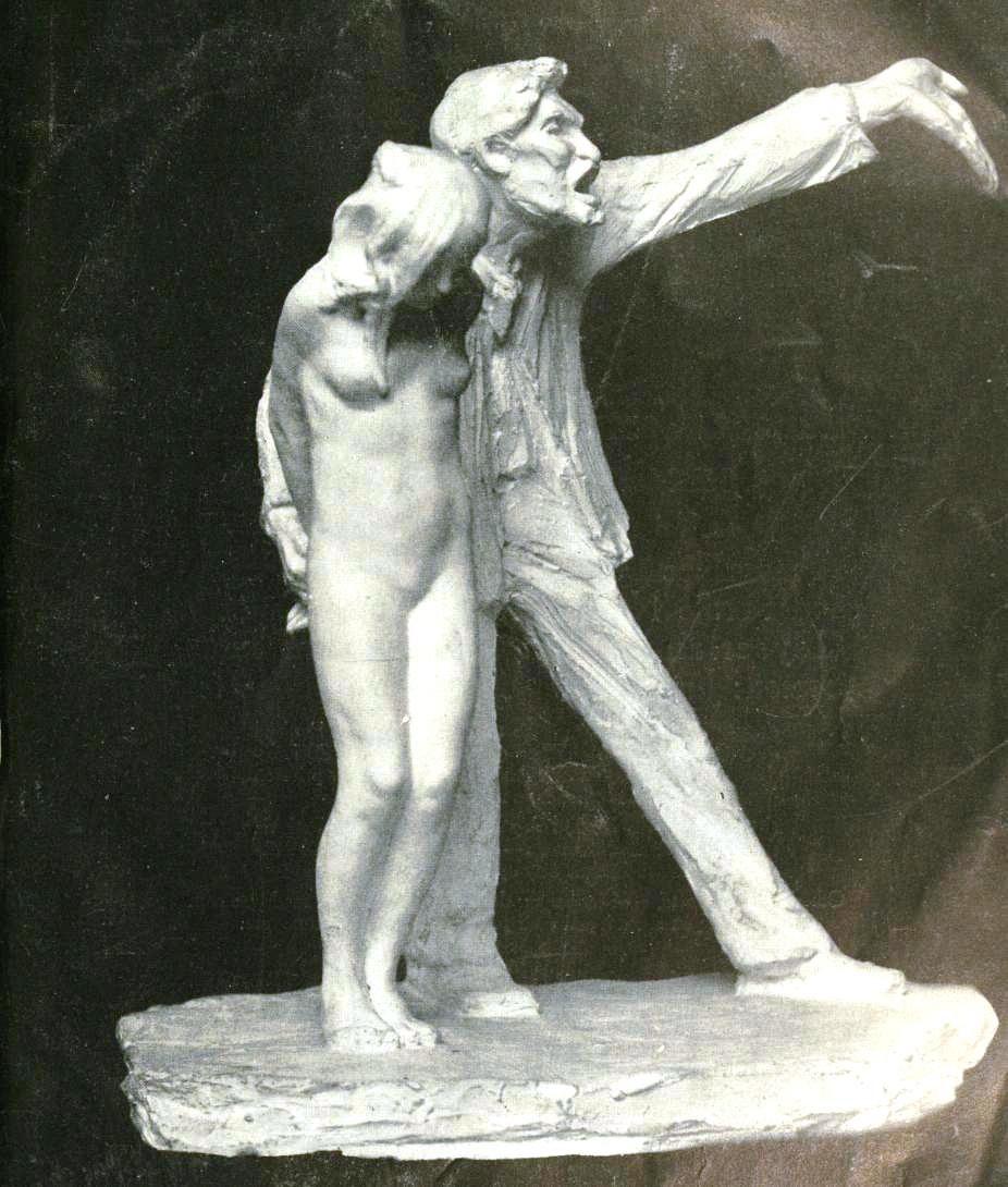 The White Slave statue