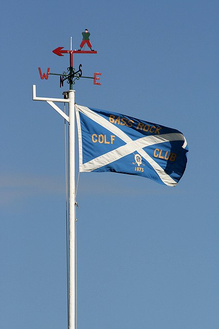 The flag at North Berwick Golf Course - geograph.org.uk - 1523656