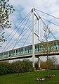 The footbridge to Meadowhall transport interchange - geograph.org.uk - 1249193.jpg
