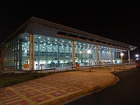 The front facade of Kazi Nazrul Islam Airport, Andal, Durgapur.jpg