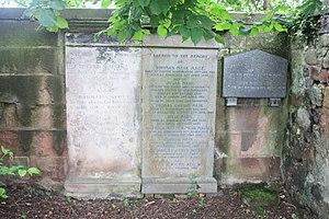 Thomas Meik - The grave of Thomas Meik, Duddingston Kirkyard