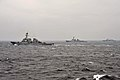 The guided missile destroyer USS Fitzgerald (DDG 62), left, conducts tactical maneuvers with South Korean navy ships in the Sea of Japan March 13, 2013, during exercise Foal Eagle 2013 130313-N-BX824-187.jpg