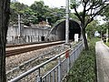 The railway tunnel near the TRA Shanjia Railway Station.jpg