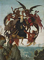 The temptation of Saint Anthony, workshop of Domenico Ghirlandaio.jpg