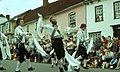 Thelwall Morrismen at Thaxted Ring Meeting - geograph.org.uk - 263068 (cropped).jpg