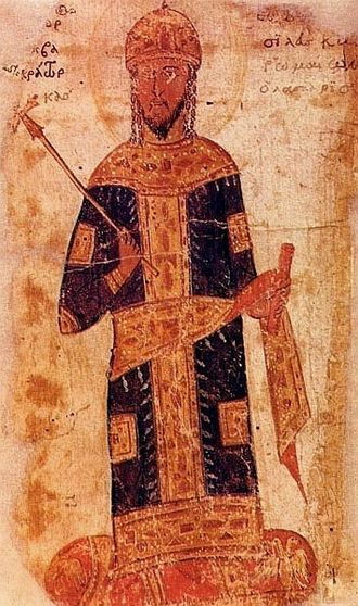 George Mouzalon - Emperor Theodore II Laskaris (r. 1254–1258), George Mouzalon's friend and patron.