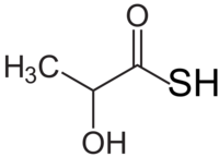Thiolactic acid structure.png
