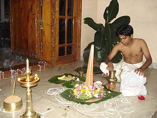 Onam Harvest festival of Kerala state, India