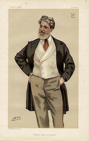 Thomas Bateson, 1st Baron Deramore - Image: Thomas Bateson Vanity Fair 1882 01 28