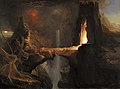 Thomas Cole - Expulsion. Moon and Firelight.jpg