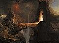 Thomas Cole - Expulsion. Moon and Firelight.jpg