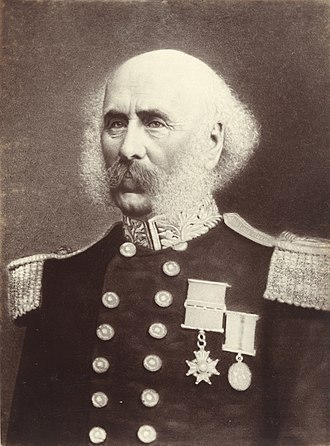 First Taranaki War - Governor Thomas Gore Browne.