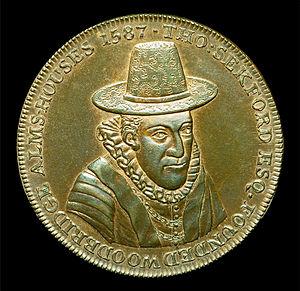 Thomas Seckford - 1796 Conder Token, Obverse