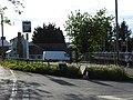 Three Crutches Pub Sign, Strood 4894.jpg